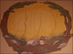 Velveteen Rabbit Mural